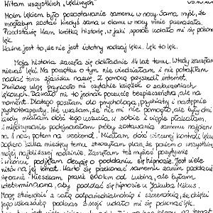 Hipnoza  hipnoterapia warszawa Hipnoterapeuta jakub Mikus opinia Maria mini gabinet hipnozy